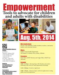 Empowerment Tools to advocate for children and adults with disabilities